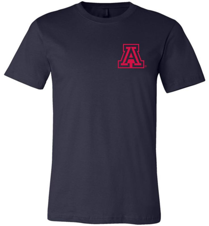 NCAA University of Arizona Wildcats U of A - Canvas Unisex T-Shirt - 35ua-2-b