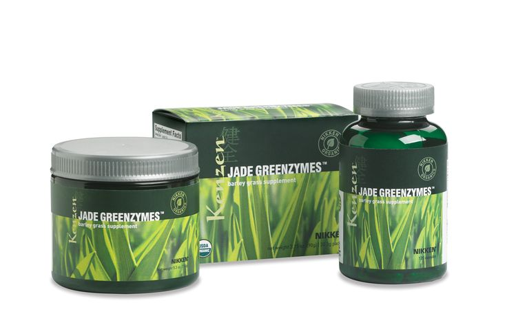 "Called ""nature's perfect food,"" barley grass is said to have more nutrition than an equal serving of any other vegetable. The barley grass in organic Jade GreenZymes® is beneficial in helping balance pH, supporting a strong immune system, and assisting in maintaining blood glucose levels that are already in the normal range"