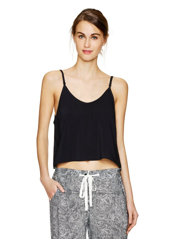 TALULA TAITO BLOUSE - A classic, breezy camisole cropped in length #ARITZIACLEANSLATE