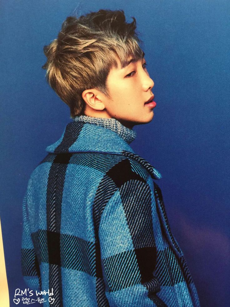 Rap Monster BTS for Singles Magazine January 2017 Issue # ...