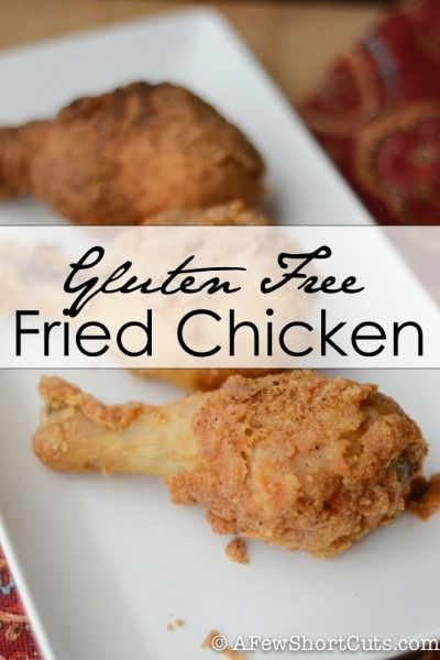 The best Gluten Free Fried Chicken #Recipe. For paleo use almond flour and arrowroot powder instead of corn flour and cornstarch.