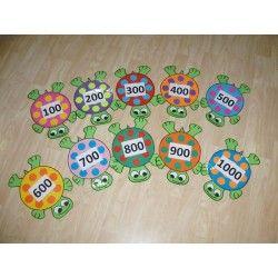 Želvičky - stovková čísla
