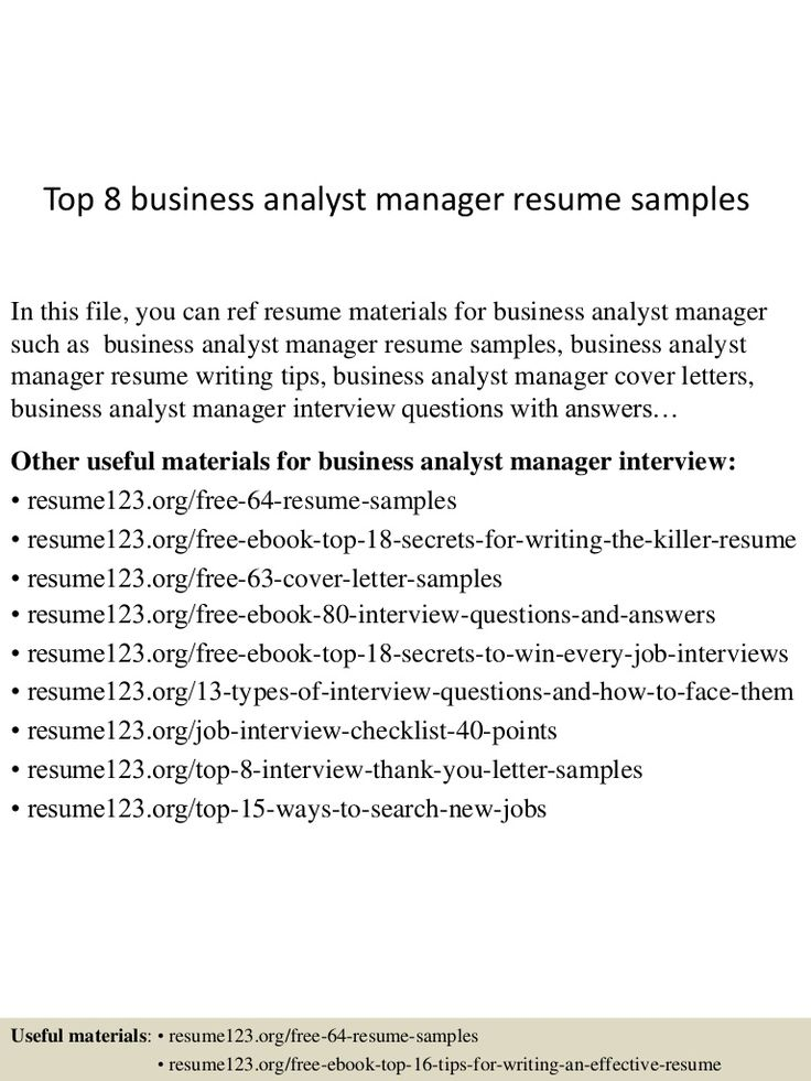 topbusinessanalystmanagerresumesamples lva app thumbnail Home - resume samples for business analyst