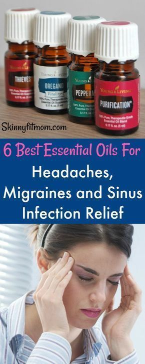 Say goodbye to Migraine and Sinus infection with these essential oils for headache. Get real instant relief from pains, #headaches #essentialoils #headacherelief