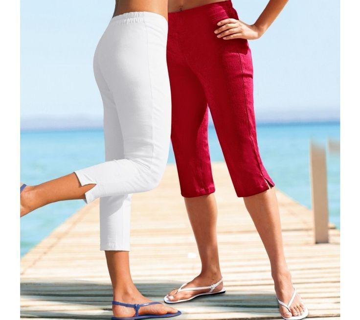 Korzárské kalhoty | blancheporte.cz #blancheporte #blancheporteCZ #blancheporte_cz #trousers