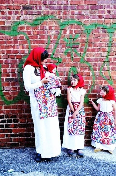 Nesting dolls | 25 Clever Halloween Costumes To Wear As A Group