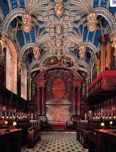 Another special venue in which to experience music is the amazing Tudor chapel at Hampton Court Palace. Sitting gazing at the stunning celestial blue ceiling, peppered with gold stars, is like looking up into the heavens. This has been an inspirational place since Henry VIII was on the throne. See the nearby deer park, walk by the Thames and in the gardens, lose yourself in the maze, see the Real Tennis Court, but most of all, attend evensong in the chapel, to experience its special…