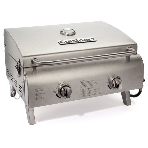 {Quick and Easy Gift Ideas from the USA}  Cuisinart CGG-306 Chef's Style Stainless Tabletop Grill http://welikedthis.com/cuisinart-cgg-306-chefs-style-stainless-tabletop-grill #gifts #giftideas #welikedthisusa