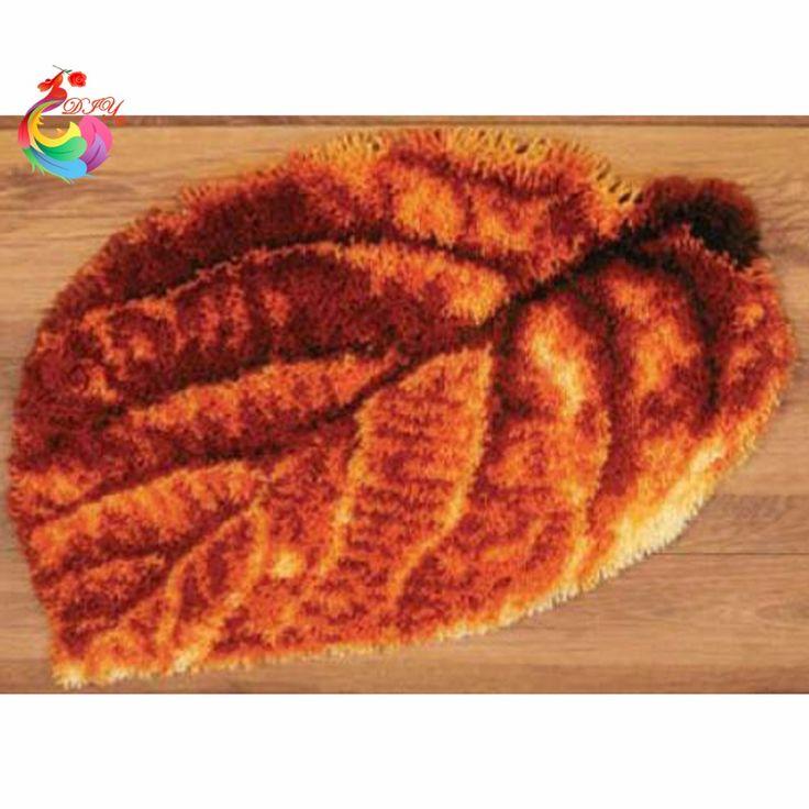 needlework diy mat crocheting rug diy unfinished