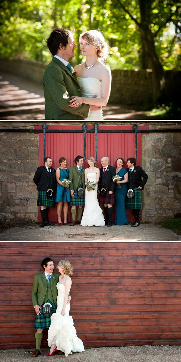 Having a scottish wedding... Love this. Should I go traditional?