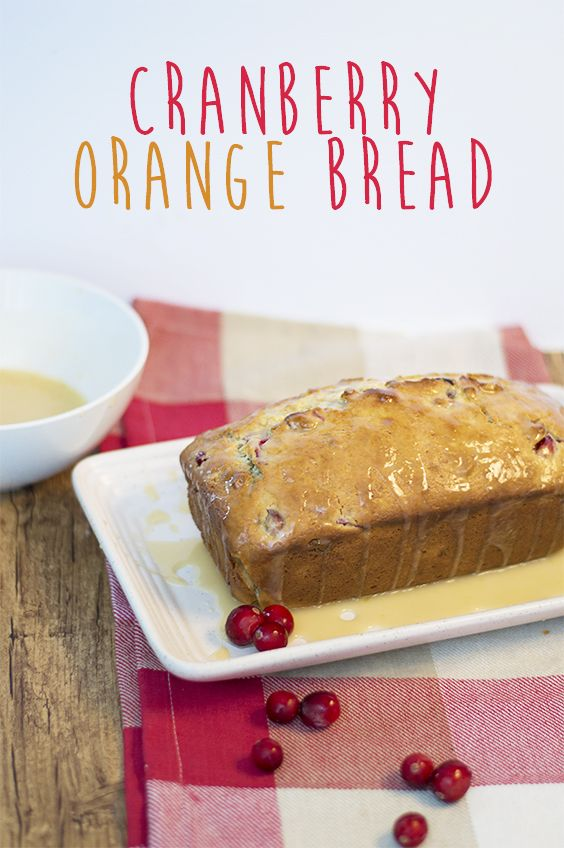 This is the perfect Christmas bread. Give it as a hostess gift or serve it over brunch!
