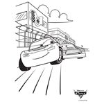 Coloring Pages ~ Disney Cars Race