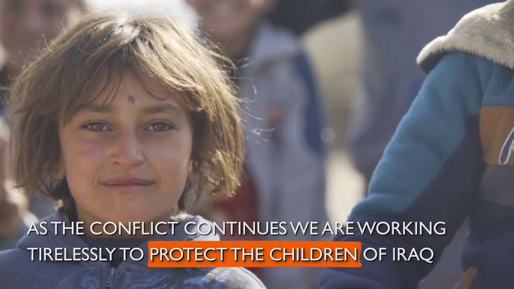We're working with the children and their families fleeing Mosul, providing much needed supplies and Child Friendly Spaces - safe places where children can f...