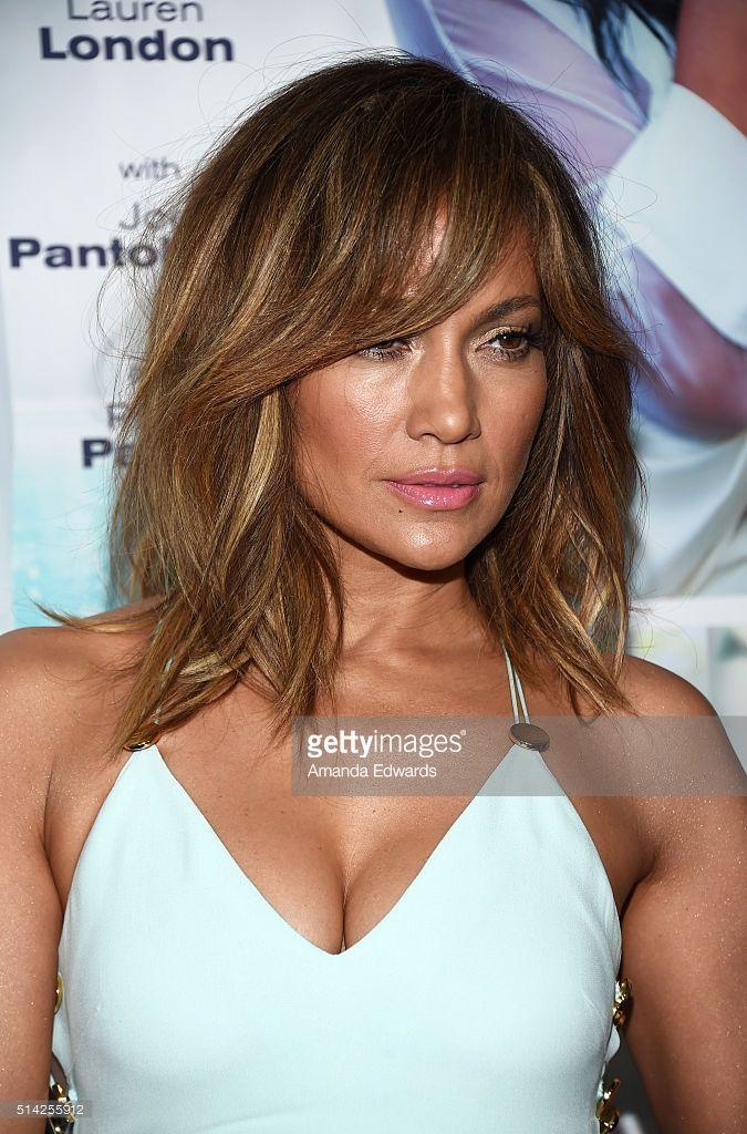 Actress and singer Jennifer Lopez arrives at the premiere of... | Jlo hair, Jennifer lopez hair, Hair styles