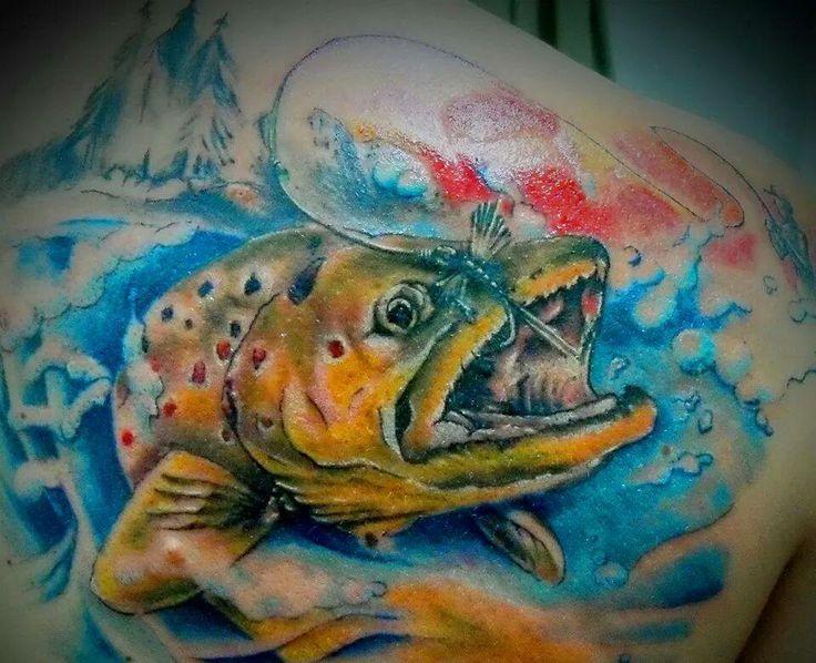 Картинки тату про рыбалку