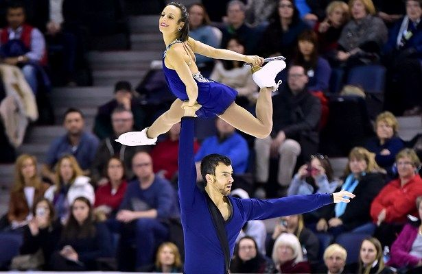 Meagan Duhamel and Eric Radford perform their free skate at the 2016 Canadian Figure Skating Championships.