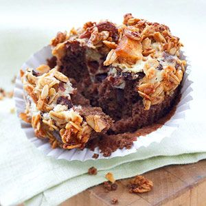 Chocolate-Cream Cheese Cupcakes - Diabetic Friendly