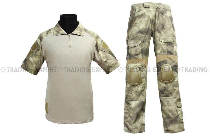 Армии сша военная форма для мужчин ЭМЕРСОН Боевая Униформа-Summer Edition (-TACS Marpat Лесной AOR1) em6918