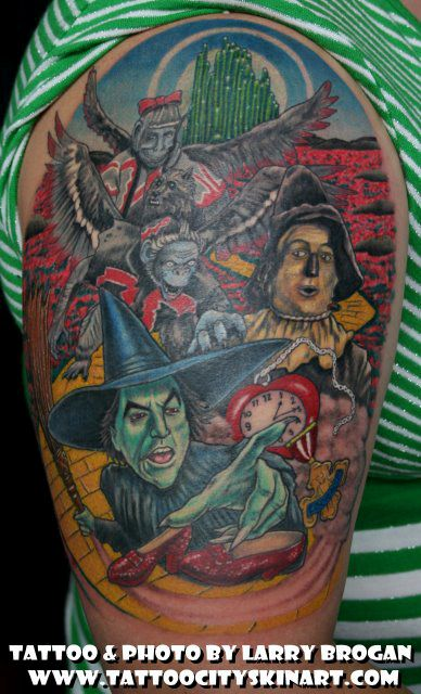 Image detail for -wizard of oz tattoo - Google Images Search Engine: Tattoo Ideas, Flying Monkey, Dr. Oz, Wizards, Future Tattoos, Tattoo'S, Wizard Of Oz