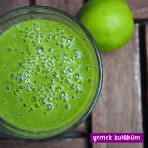 Yeşil Detoks Smoothie tarifi nasıl yapılır, resimli Yeşil Detoks Smoothie yapımı yapılışı, sağlıklı diyet yeşil detoks smoothie tarifleri burada.