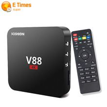 New Arrival V88 Tv Box Rockchip 3229 Quad-Core Android 5.1 Smart Media Player HDMI 2.0 KODI 1 GB 8 GB DLNA XBMC Tv Set-top Box     Tag a friend who would love this!     FREE Shipping Worldwide     #ElectronicsStore     Get it here ---> http://www.alielectronicsstore.com/products/new-arrival-v88-tv-box-rockchip-3229-quad-core-android-5-1-smart-media-player-hdmi-2-0-kodi-1-gb-8-gb-dlna-xbmc-tv-set-top-box/