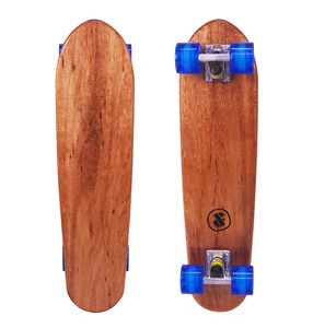 This deck is crafted from a solid piece of sustainably grown Australian Blackwood (local) and features a high gloss clear finish. www.dandfboards.com.au