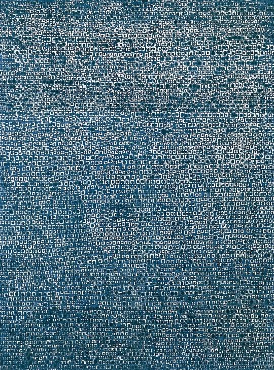 어디서 무엇이 되어 다시 만나랴 1970  oil on cotton 232 x 172 cm  김환기