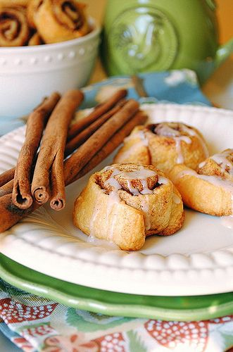 Crescent Cinnamon Rolls by How To: Simplify, via Flickr