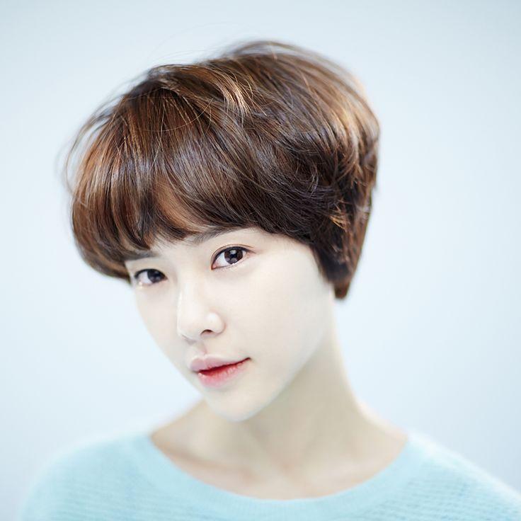 Korean Actress Short Hair Assimetric Ecosia