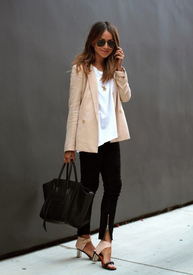 What to wear to work: Noteworthy neutrals with Sincerely Jules
