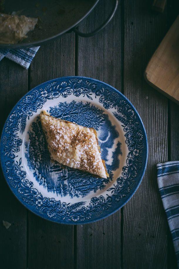 Savoury Pumpkin Pie (Kolokithopita) Recipe — Dishmaps