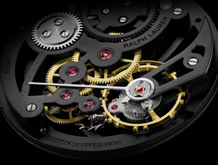Ralph Lauren Automotive Skeleton – luxusní hodinky ze světa haute couture | Luxurio.cz