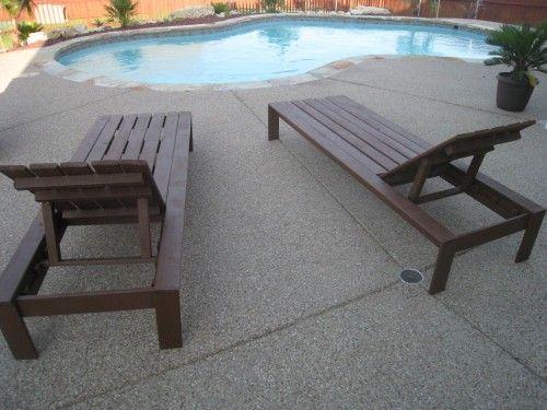 pool lounge chairs pool furniture diy and diy outdoor furniture