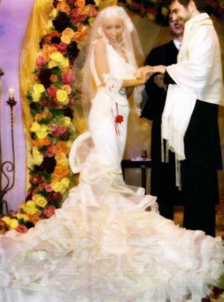 Фото свадебные платье знаменитостей