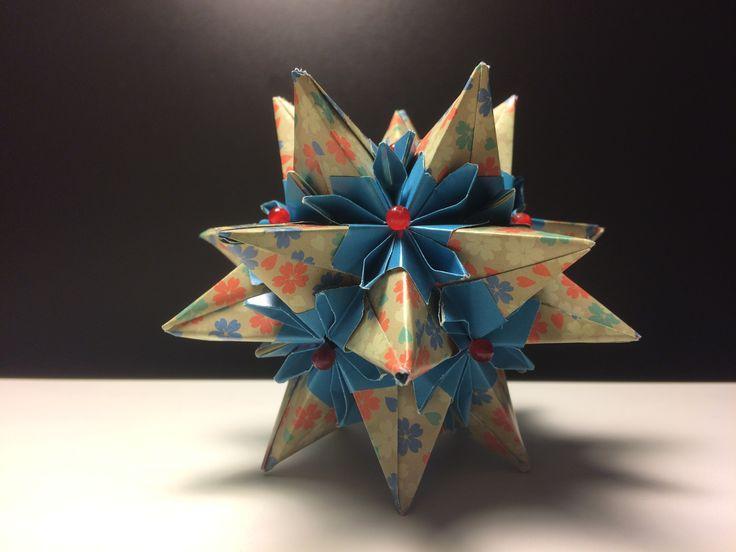 kusudama ball  http://all-origami.livejournal.com/68837.html