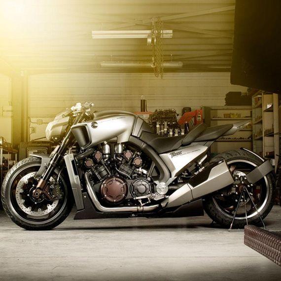 Yamaha VMAX Hyper Modified | Custom Motorcycles & Classic Motorcycles - BikeGlam