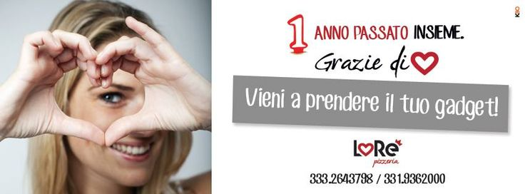 1 anno insieme #outdoor #poster #gadget #advertising