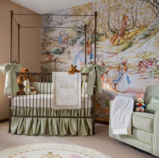 12 Nurseries Inspired By Clic Kids Books Via Brit Co Rooms For Children Pinterest Nursery Baby And Peter Rabbit
