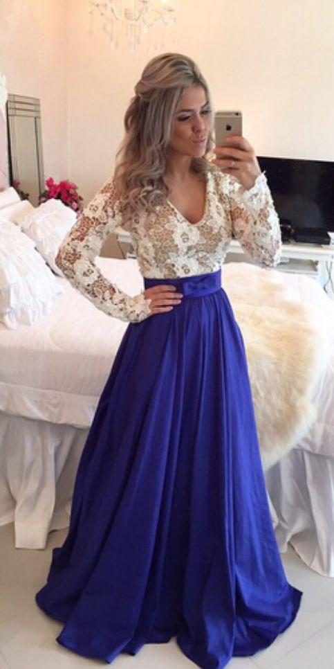 Fashin Prom Dress,Long Sleeve Prom Dresses,Lace prom #prom #promdress #dress #eveningdress #evening #fashion #love #shopping #art #dress #women #mermaid #SEXY #SexyGirl #PromDresses