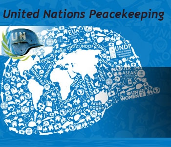what is peacekeeping in the un A member of a usually armed force engaging in peacekeeping  - a un peacekeeper was killed and three others were wounded after the christian anti-balaka.