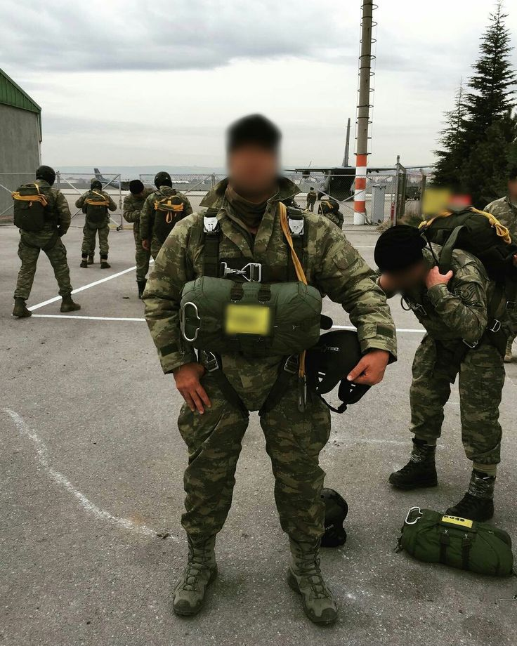 Turkey Special Forces - Turkey Special Operation Forces - Turkish SOF parachute course.