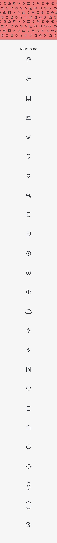 Flat icons by David van Ochten, via Behance