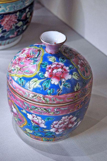 Peranakan Pottery -- Straits Chinese.