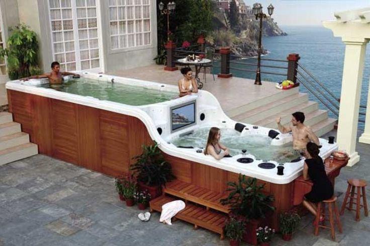 Schwimm - Whirlpool Bahamas Elegance Luxury