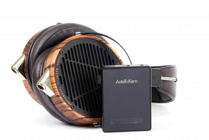 The AK100 portable digital audio player from Astell And Kern.