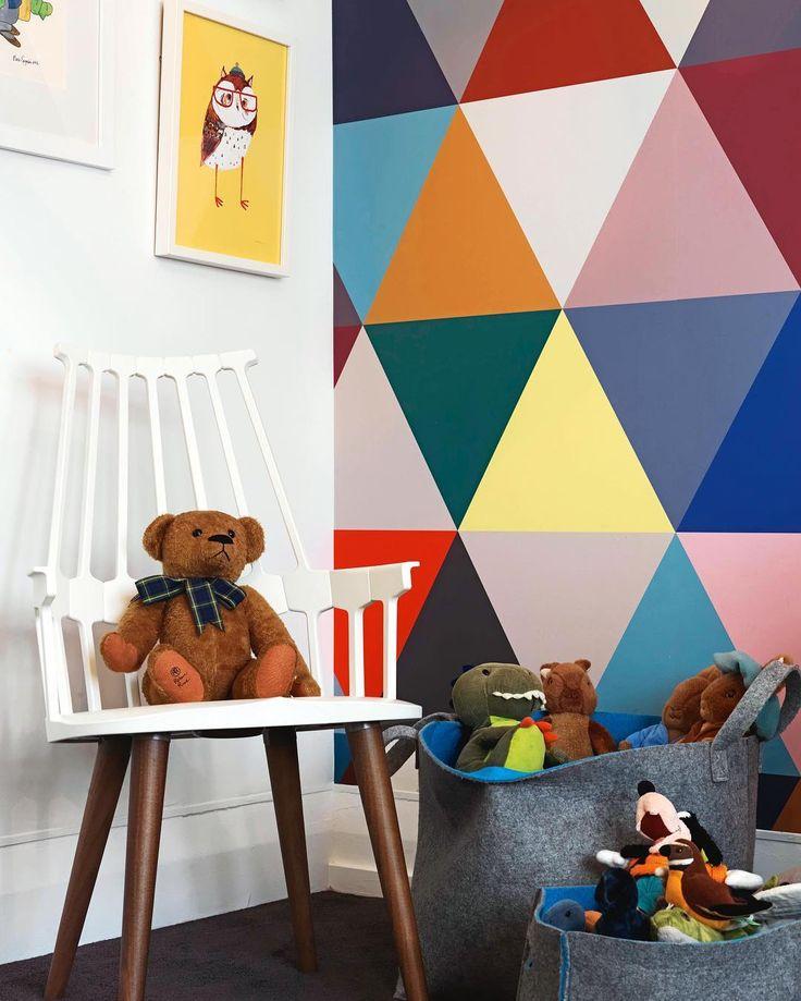 #kidsroom #nursery #colour #wallpaper