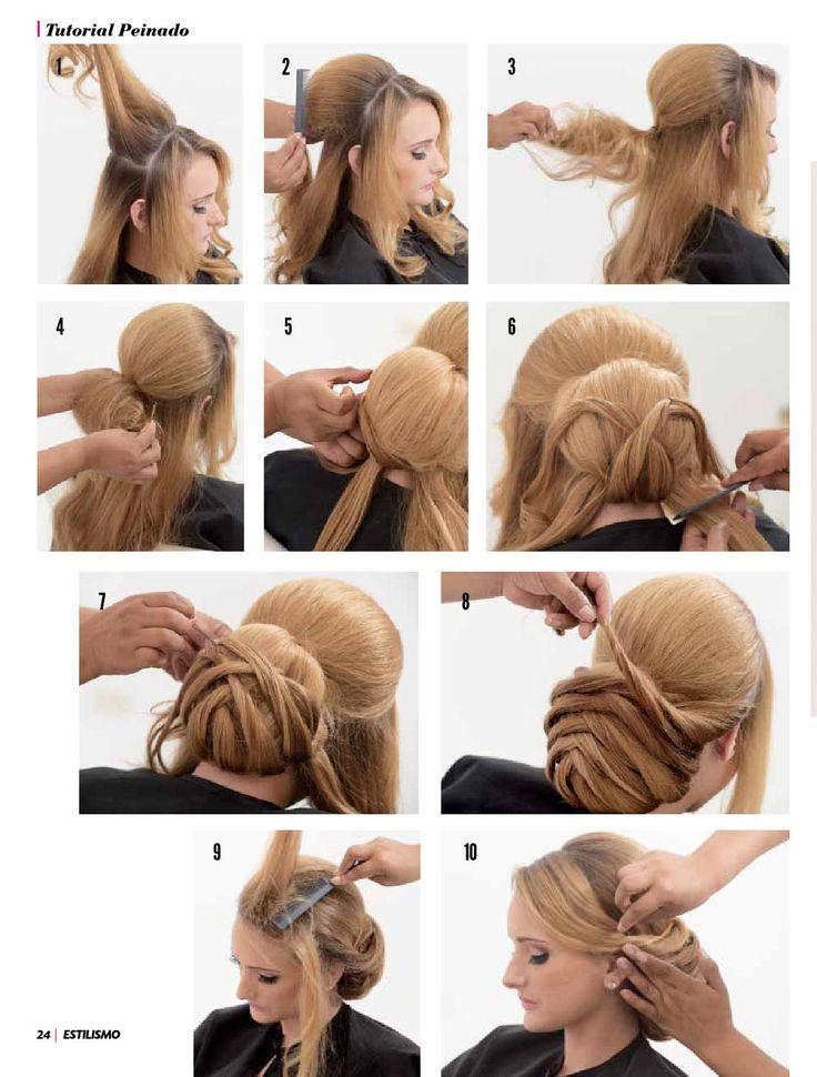 Styling Magazine 18 Von Estilismo Esthetic Hairdressing Fashion Frisuren Frauen Hair Styles Hairstyle Hair Inspiration