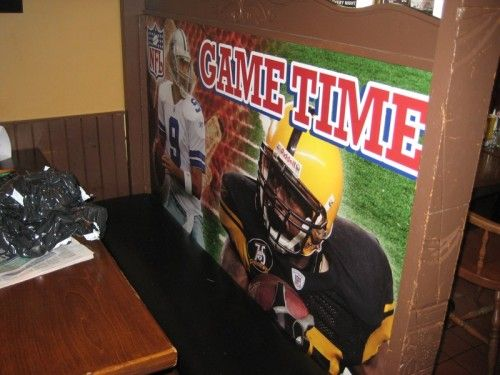 Retail Wall Graphics - NFL