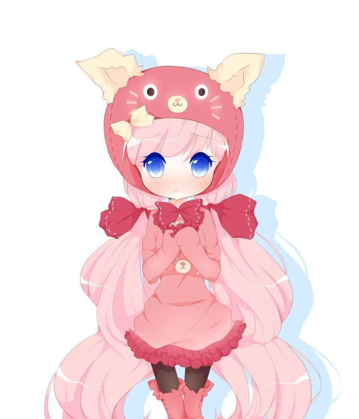 kawaii cute chibi anime fox