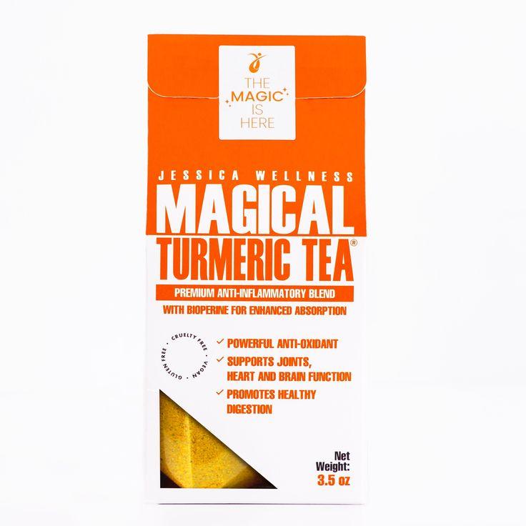 """""""Tantos beneficios y buenas referencias que me dije: """"lo tengo que probar"""", todavía no llevo un mes tomándolo y me ha hecho sentir tan bien. Lo tomo dos veces al día, al levantarme es lo primero que hago, me ayuda y me da la energia que necesito para hacer mis ejercicios."""" Samary R. Compradora verificada El Mágico té de cúrcuma de Jessica Wellness, es un producto único en el mercado, cuya formulación está especialmente creada para aumentar la biodisponibilidad que tienen sus enzimas… Turmeric Tea, Wellness, Products, Cholesterol, Europe, Eating Raw, Circulatory System, Rheumatoid Arthritis, Gadget"""